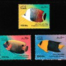 Fish 3 mnh stamps 2010