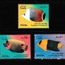 Fish 3 mnh stamps 2010