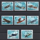 History of Aviation mnh set of 8 stamps 1978 Rwanda #885-92