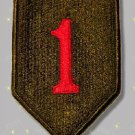 1st Infantry Division Patch, genuine military patch, mint  [B2G1 FREE]