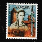 Europa 1997 Legend of Rozi Turaidas mnh stamp Latvia #442