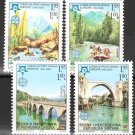 Bosnia & Herzegovina, (Serb Admin.) Europa issue mnh 4 stamps 2005 #257-60