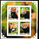 Red Panda mnh imperf Souvenir sheet drp1