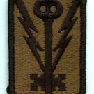 501st Military Intelligence Brigade Patch, genuine subdued color, mint