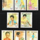 International Year of the Disabled mnh set of 8 stamps 1981 Rwanda #1059-66