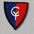 "38th Infantry Division Patch, genuine full color, mint ""Cyclone Division"""