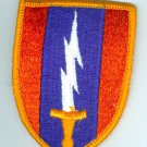 1st Signal Brigade Patch, genuine full color, mint