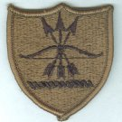 North Dakota Army National Guard subdued color embroidered patch mint