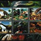 Dinosaurs mnh imperf Souvenir 2016 Togo (s2)