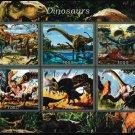 Dinosaurs mnh imperf Souvenir 2016 Togo (s3)