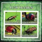 Leaf Beetles mnh imperf Souvenir sheet