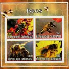 Bees mnh imperf Souvenir sheet gb1