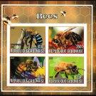 Bees mnh imperf Souvenir sheet gb2