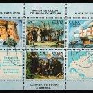 Columbus Day 1984 cto Souvenir Sheet ships