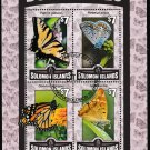 Butterflies miniature sheet cto 2016 Solomon Islands #1988