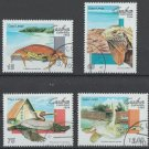 Fauna Cayo Largo Island cto set 4 stamps 1994 Cuba #3598-3601