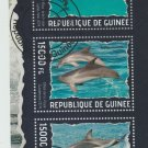 Dolphins cto mini sheet 2014 Guinea