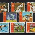 Olympics Moscow 1980 mnh set 8 stamps Equatorial Guinea #7928-35