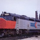 AMTRAK Postcard EMD SDP40F locomotive passenger train railroad