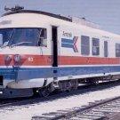 AMTRAK ANF Turboliner #63 postcard passenger train