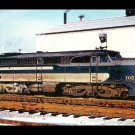 Wabash ALCO PA1 #1051 postcard passenger train railroad