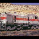 Utah Railway ALCO RSD4 #300 Switcher postcard train railroad