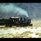 Southern Pacific 4-6-0 narrow gauge #9 postcard steam locomotive train railroad
