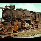 Kentucky & Tennessee Railroad 2-8-2 Mikado postcard steam locomotive train