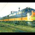 City of New Orleans Illinois Central Railroad Postcard EMD E9 #4026 train c46
