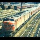 Gulf, Mobile & Ohio Railroad Postcard EMD E7 #100 train c45