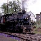 Gainesville Midland Railway Postcard ALCO 2-10-0 steam locomotive #208 c41