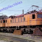South Shore Line Postcard train railroad Electric Boxcabs ex-NYC c32