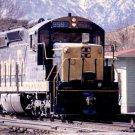 Santa Fe postcard EMD SD24 #959 diesel locomotive train railroad a10