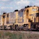 Santa Fe postcard EMD GP9 #2928 diesel locomotive train railroad a11
