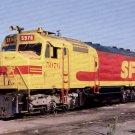 San Francisco postcard EMD F45 #3976 diesel locomotive train railroad a13