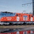 Conrail Bicentennial GG1 electric #4800 postcard locomotive railroad a23