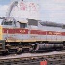 Erie Lackawanna SD45 #3624 postcard diesel locomotive  a33