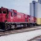 Green Bay & Western C430 ALCO #315 postcard locomotive train railroad a34