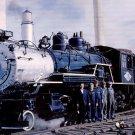Great Western Railway 2-8-0 #75 steam postcard locomotive train railroad a37