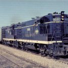 Illinois Central GP9 #9080 postcard locomotive train railroad a39