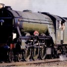 The Flying Scotsman in California LNER 4-6-2 postcard locomotive train railroad a43