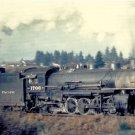 Northern Pacific 2-8-2 Steam #1706 postcard locomotive train railroad a53