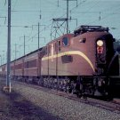 PRR Electric GG1 #4907 postcard train railroad Pennsylvania a56