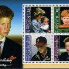 Prince Harry 18th Birthday mnh Souvenir sheet 2002 Gibraltar #916a