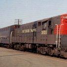 Southern Pacific Fairbanks-Morse H24-66 #3035 postcard train railroad a62