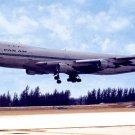 Pan Am Boeing 747 postcard airplane