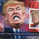 Two Donald Trump souvenir sheets mint imperf