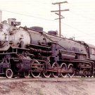 Southern Pacific 4-10-2 #5021 Steam locomotive postcard train railroad a64