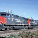 Southern Pacific GE Dash-9 44CW #8140 locomotive postcard train railroad a65