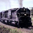 Southern Pacific EMD SD-45 #9075 locomotive postcard train railroad a66